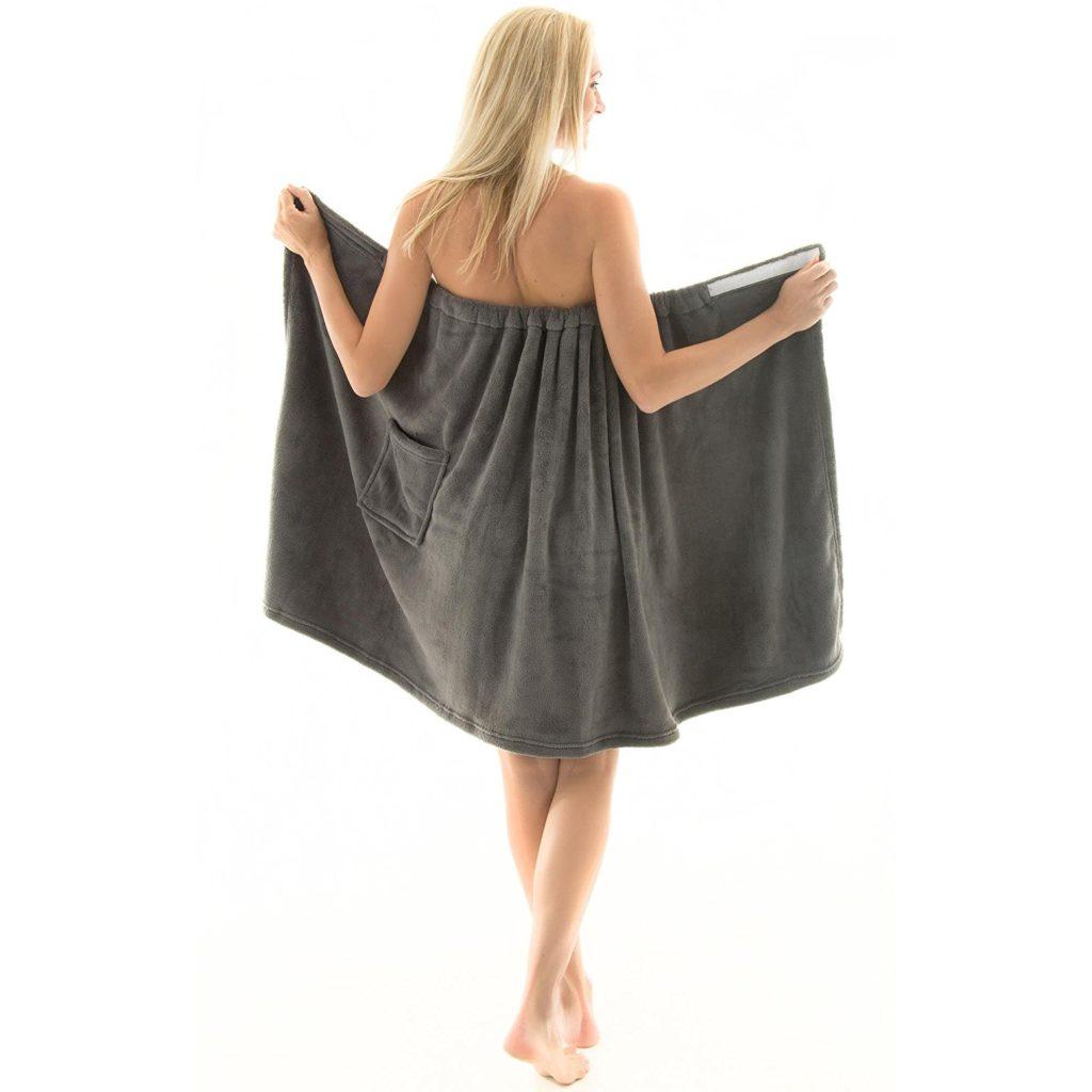 Saunakleid für Frauen